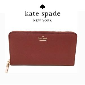 NWT Kate Spade Cameron Street Leather Wallet